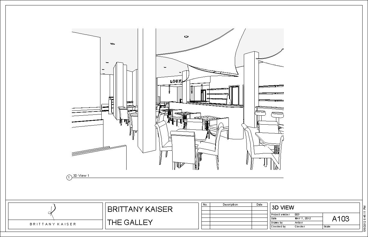 Restaurant Design The Galley Brittany Kaiser