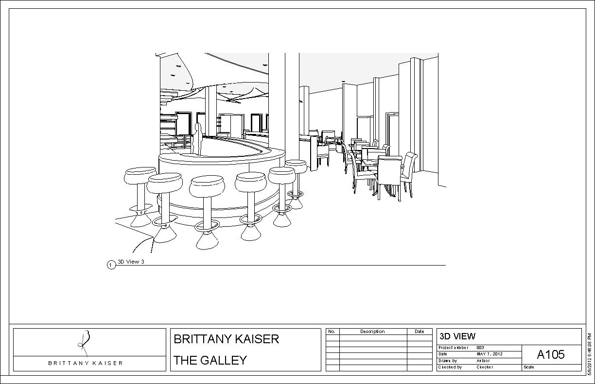 Restaurant design the galley brittany kaiser for Lineal foot counter